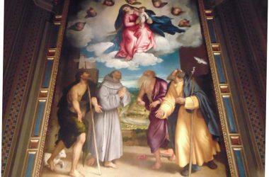 Sedrina- Bergamo Dipinto chiesa parrocchiale di San Giacomo