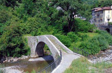 Sedrina ponte medievale a Cappello