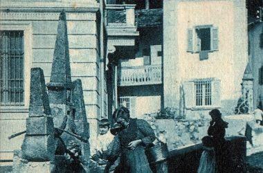 Serina- fontana tricuspidale del 1606 in contrada Mezzacà