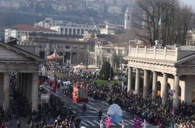Sfilata di Mezza Quaresima Carri Carnevale – Bergamo