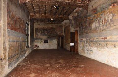 Soffitti Castello di Malpaga Cavernago