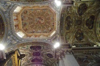 Soffitto Basilica Santa Maria Maggiore - Bergamo