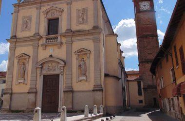 Spirano BG chiesa parrocchiale di San Gervasio e Protasio