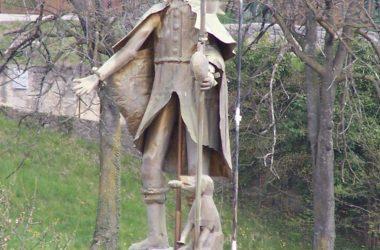 Statua Chiesa di San Rocco - Bianzano