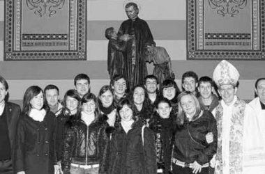Statua Don Bosco Oratorio Gandino