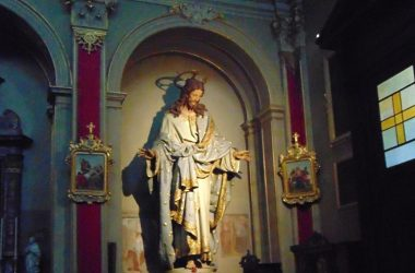 Statua Gesù Chiesa Parrocchiale- Almenno San Salvatore