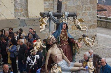 Statua Processione della Madonna Addolorata di Dossena