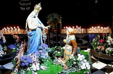 Statue Santuario Santa Maria del Fonte Caravaggio