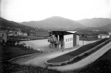 Stazione Funivia anni 50 Albino