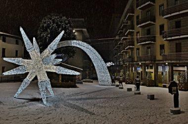 Stella di Natale a Gazzaniga