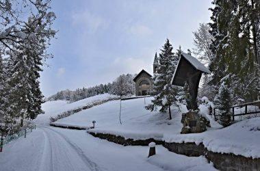 Strada Chiesetta Val Piana - Gandino