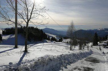 Strada Innevata Monte Farno Gandino