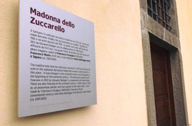 Targa Santuario della Madonna dello Zuccarello