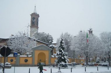 Terno d'Isola in inverno