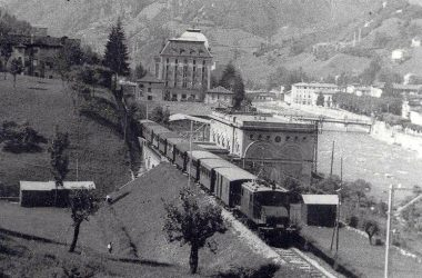 Treno a San Pellegrino Terme