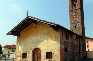Urgnano Bergamo la chiesetta agreste della Trinità
