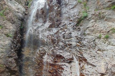 Valbondione Bergamo la cascata del Coca