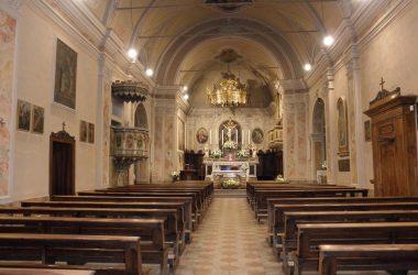 Valbondione Chiesa di San Bernardino Lizzola