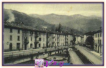 Valbrembilla - Via Rizzi-Via Roma anni 1930