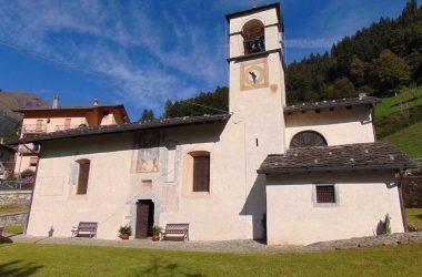 Valgoglio Bergamo la chiesa di Colarete, dedicata a San Michele