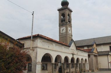 Valsecca BG la chiesa parrocchiale di San Marco evangelista