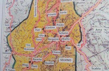 Vecchia Mappa Selvino