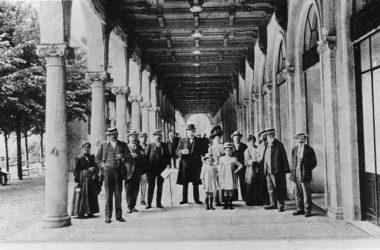 Vecchia foto San Pellegrino Terme