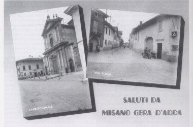 Vecchie Cartoline Misano Gera d'Adda