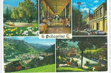 Vecchie Cartoline San Pellegrino Terme