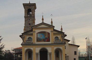 Verdello Bergamo Il santuario, edificato nel 1592 e dedicato a Santa Maria Annunciata