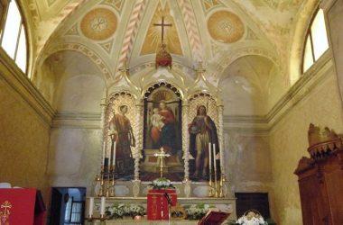 Vertova- Bergamo -La chiesa di san Lorenzo
