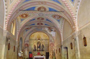 Vertova- Bergamo -La chiesa di san LorenzoBg