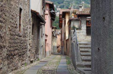 Vertova Bergamo Scorcio tipico del centro storico