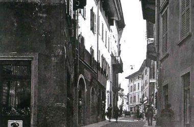 Via Manzoni Gazzaniga Anni 50