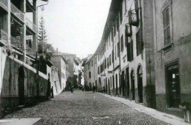Via Manzoni anni 50 Gazzaniga