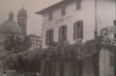 Via Montegrappa Boltiere Immagine storica