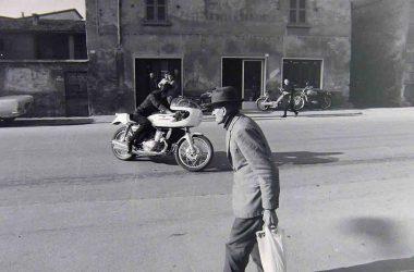 Via Roma Mozzanica 1970