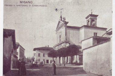 Via Roma anni 40 Misano Gera d'Adda