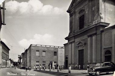 Via Roma anni 60 Misano Gera d'Adda