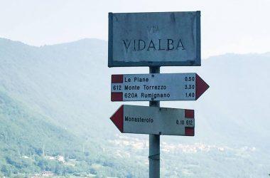Via Vidalba Sentiero Monasterolo del Castello