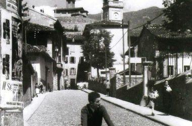 Via Vittorio Veneto Gazzaniga anni 50
