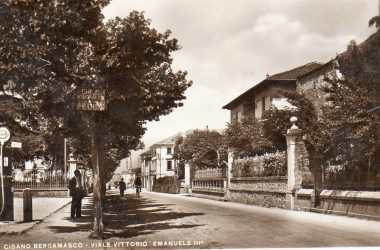 Viale Vittorio Emanuele Cisano Bergamasco