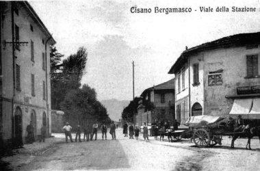 Viale della stazione Caprino Bergamasco