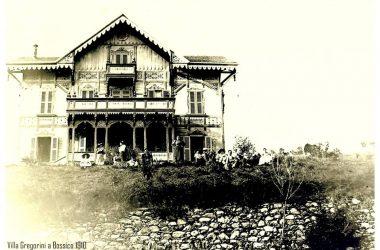 Villa Campidoglio:Gregorini scattata nel 1910 Bossico