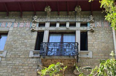 Villa Giuseppe Faccanoni 1907 a Sarnico