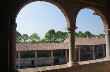 Vista dal Castello di Malpaga Cavernago