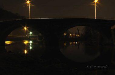 arcate del ponte romanico a Nembro