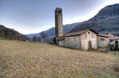 borgo di Cornello Chiesa dei Santi Cornelio e Cipriano