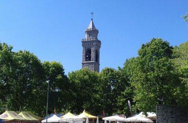 campanile del Santuario Madonna della gamba