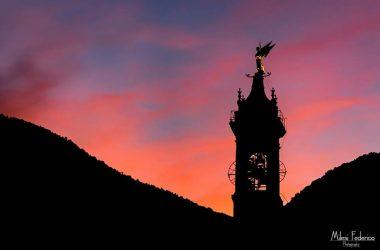 campanile del Santuario della Madonna della gamba